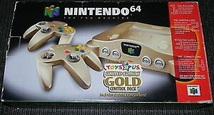 Looking for a Gold N64 System