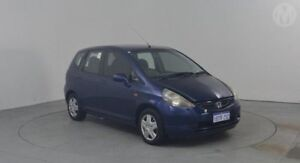 2005 Honda Jazz Upgrade GLi Cerulean Blue Continuous Variable Hatchback Perth Airport Belmont Area Preview
