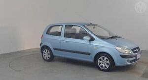 2010 Hyundai Getz TB MY09 S Sky Blue 4 Speed Automatic Hatchback Perth Airport Belmont Area Preview