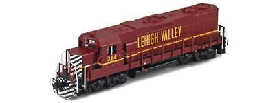 Azl Z Scale Locomotive Lehigh Valley  Gp38 2 Road Number 314
