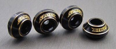 Samix RC Traxxas TRX-4 Brass Shock Spring Retainer Set TRX4-4047 ()