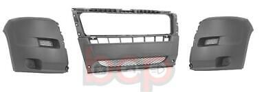 FIAT DUCATO 2006 - 2014 FRONT BUMPER COMPLETE ALL 3 SECTIONS LEFT RIGHT & CENTRE