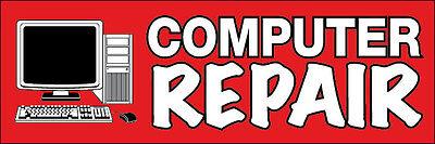 2X4 Ft Vinyl Banner Sign New   Computer Repair Rb