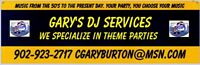 Gary's DJ Services Music for Your Enjoyment