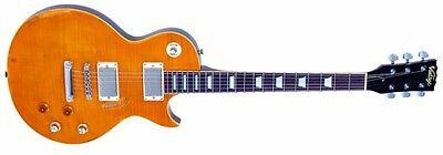 Gitarre elektrische Vintage Icon V100MRPGM gealtert Zitrone Drop, gebraucht gebraucht kaufen  Versand nach Germany
