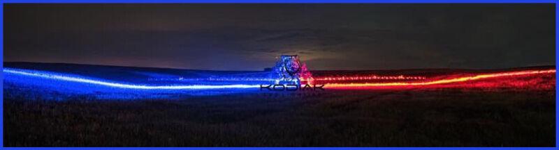 Kodiak Led Sprayer Boom Lighting Farming Equipment