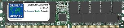 2 Go DRAM DIMM Mémoire CISCO 7200 routeurs npe-g2 (mem-npe-g2-2gb, mem-7201-2gb)