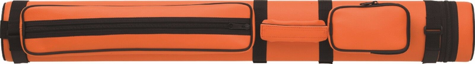 Action 2x2 Pool Cue Case Orange w/ FREE Shipping