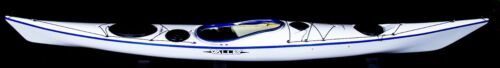 Valley Sea Kayaks Sirona 16.4 White over Gray with Blue - NEW