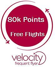 80k Velocity Points + Lounge | Free return flights to USA Sydney City Inner Sydney Preview