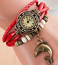 New- Retro Bracelet Style Charm, Beaded & Braided Bracelet Watch Sarnia Sarnia Area image 3