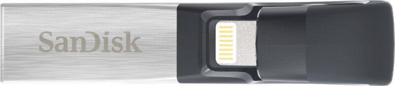 SanDisk iXpand 64GB USB 3.0/Lightning Flash Drive SDIX30C-064G-AN6NN