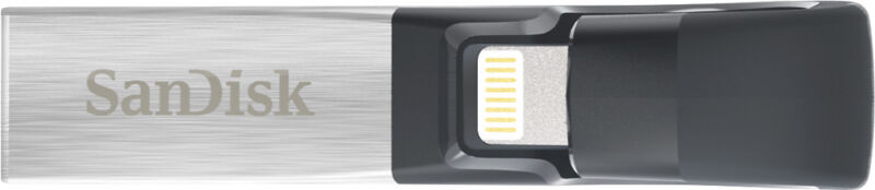 SanDisk iXpand 128GB USB 3.0/Lightning Flash Drive SDIX30C-128G-AN6NE