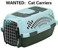 Pet Carriers Wanted by Cat Rescue