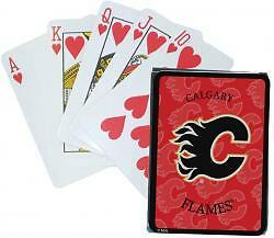 CALGARY FLAMES ........ NHL playing cards