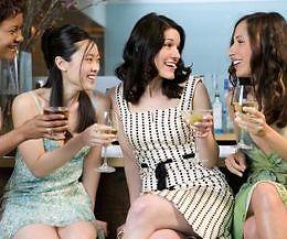 Women in casual dresses