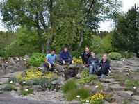 Volunteer in the Reykjavik Botanical Garden
