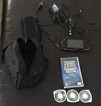 PSP With 4 Games and Charger!!