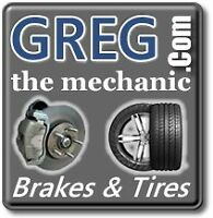 Greg The Mechanic padsnrotors $60.00