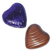 Purple Chocolate Wedding Favours