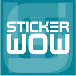 Sticker WOW