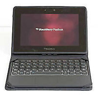 Playbook 64 with bluetooth keyboard & HDMI cable