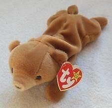 Ty Beanie Baby ~ CUBBY the Brown Bear ~ 4th Gen Hang Tag