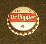 Vintage Dr Pepper Bottle