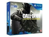 BRAND NEW PS4 SLIM 500GB WITH CALL OF DUTY INFINITE WARFARE
