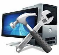Computer repair, viruses removal