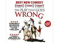 The Play That Goes Wrong In London Including Travel