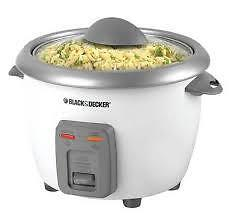 !!! BRAND NEW !!! Black & Decker 6 Cup Rice Cooker