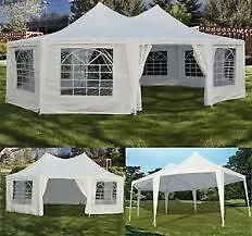 White Wedding/Graduation Tent (29x21 ft) Arabian Style For RENT