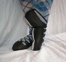 Highland dance slippers for sale - Dougies