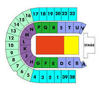 2 Section R Great Seats Ed Sheeran Concert 4 Sale