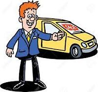 Looking for Auto Sales Rep. Commission Based pay + Salary..