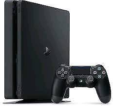Brand new 1TB PS4 console with game and blu ray