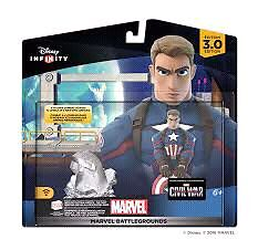 Disney Infinity Captain America Civil War Battleground