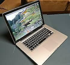 "Apple 2011 MacBook Pro 15"" 2GHz core i7 500GB 8GB"