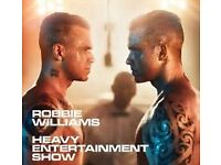ROBBE WILLIAMS TICKETS MANCHESTER 2ND JUNE