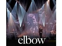 FACE VALUE ONLY Elbow Tickets Newport Centre Friday 10/03/17