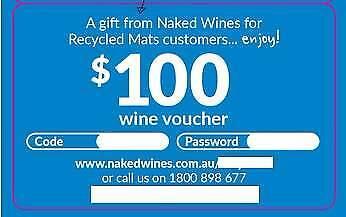 Nakedwines $100 voucher