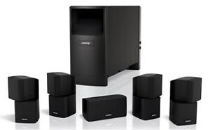 Bose Acoustimass 5.1 home theatre speakers