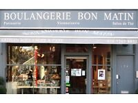 Chef Needed for popular Boulangerie in Finsbury Park