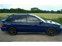 SUBARU IMPREZA STI WAGON 555 V LIMITED WRC 22B TYPE R WR1 RB5 P1 MCRAE SPEC RA EVO RS GT 4X4 AWD JDM