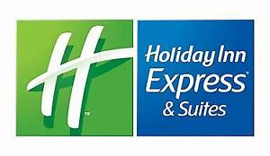 Certificate One Night Stay Holiday Inn Express&Suites Dieppe NB
