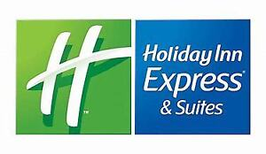 Certificate One Night Stay Holiday Inn Express Suites Dieppe NB