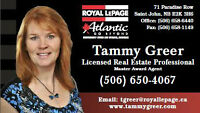 Master Award Realtor ~ Saint John, KV, Hampton, Sussex * Areas