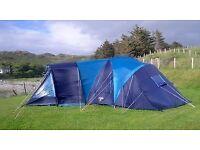 Vango Diablo 600: six person tent