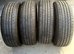 255 70 17 Bridgestone DUELERS H/T SET 4 USED TIRES